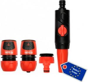Наконечник оросительный для водопроводного шланга Yato набор 4 шт
