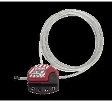 Блокиратор кабельний регульований Master Lock 15,24м S806CBL50