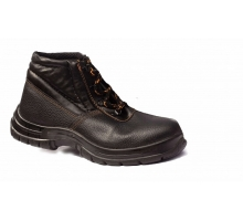 Ботинки кожаные утеплёные ПУП