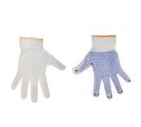 Перчатки ПромСИЗ х/б вязаные с ПВХ-точкой ПТФ