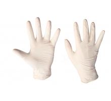 Перчатки латексные тонкие Santex® Powdered S-XL