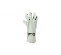 Перчатки жаропрочные STARLINE спилковые Е-081