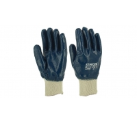 Перчатки STARLINE нитрильные с вязаной манжетой E-380