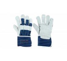 Перчатки STARLINE комбинированные спилок/хлопок E-026MV