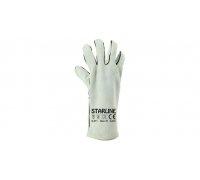 Перчатки жаропрочные STARLINE спилковые для сварочных работ Е-071