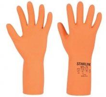 Перчатки STARLINE КЩС латексные 0.75 mm STL-75 / К80 Щ50