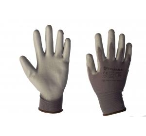 Перчатки нейлоновые с ПУ TRIARMA PU1350-DG/DG
